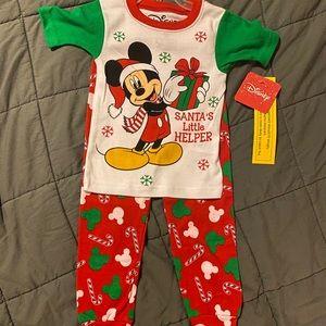 New Disney Mickey PJ set size 3T